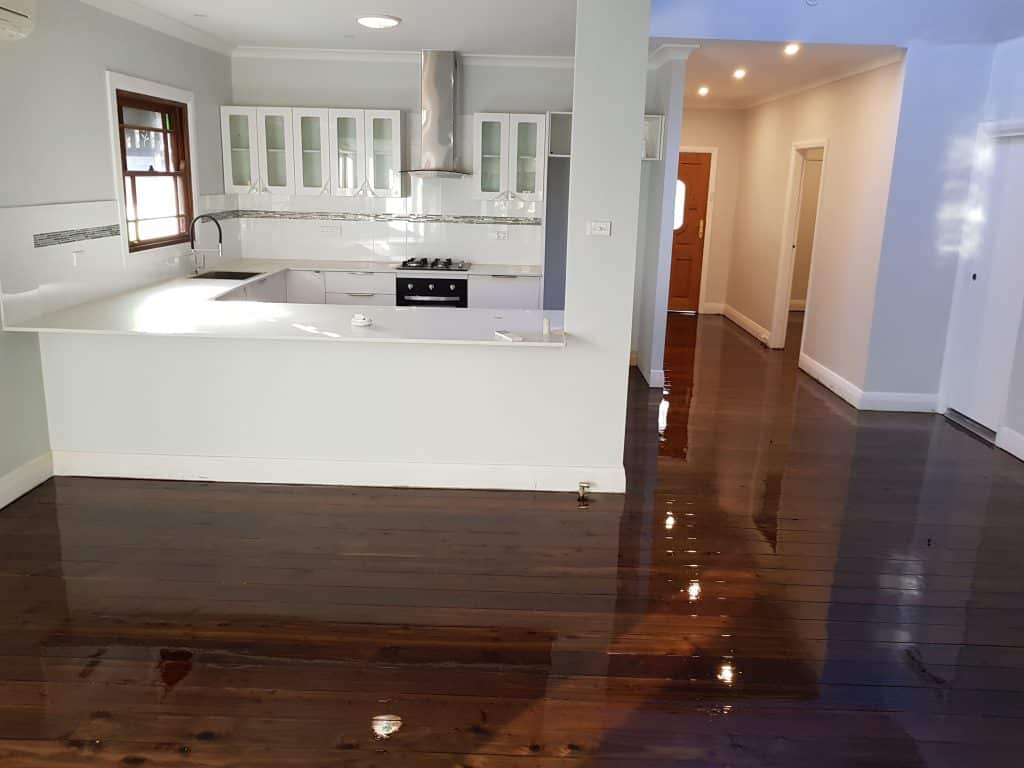 Floor Staining -