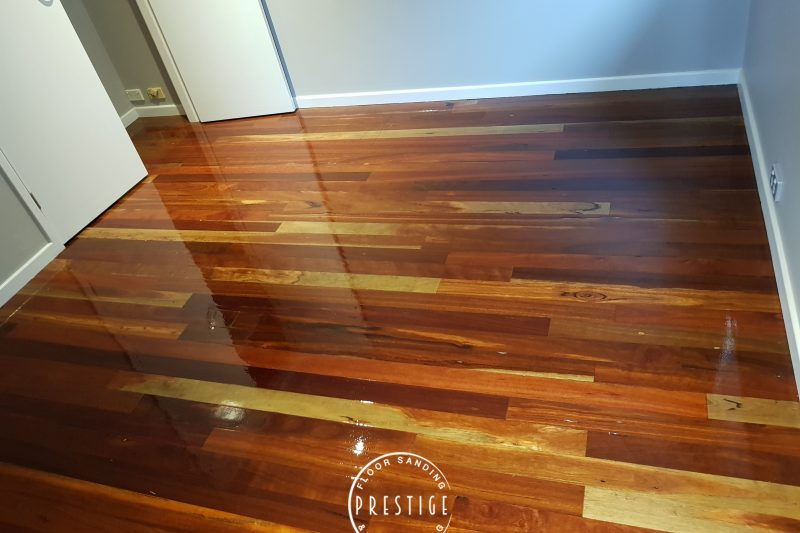 Spotted gum Hard Wood Buff & Recoat, Prestige Floor Sanding And Polishing Newcastle