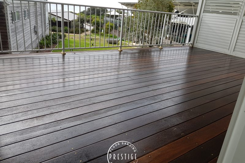 Deck Sanding & Staining, Prestige Floor Sanding & Polishing, Newcastle