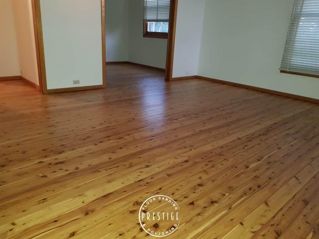 Cypress Pine - Matt Finish - Waratah - Prestige Floor Sanding