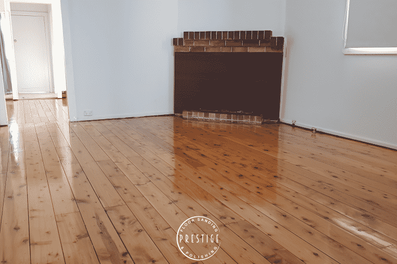 Mixed Pine - Gloss finish - Newcastle Floor Sanding - Prestige Floor