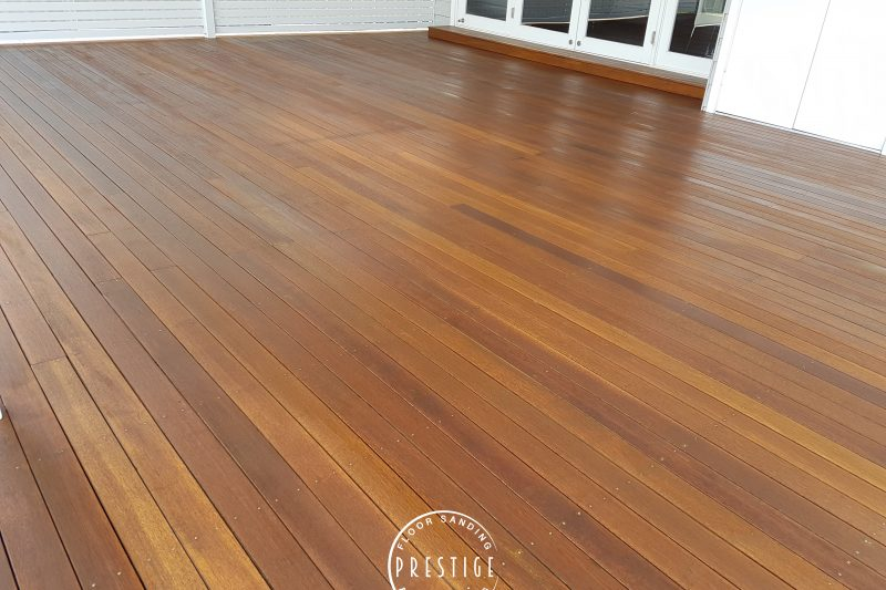 Deck Refinihsing - Newcastle Prestige Floors