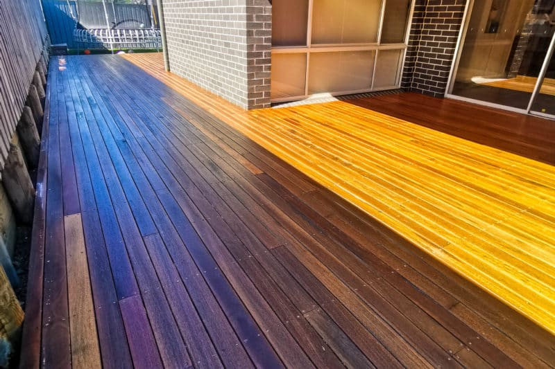 Deck Sanded & Finished With Quantum Decking Oil