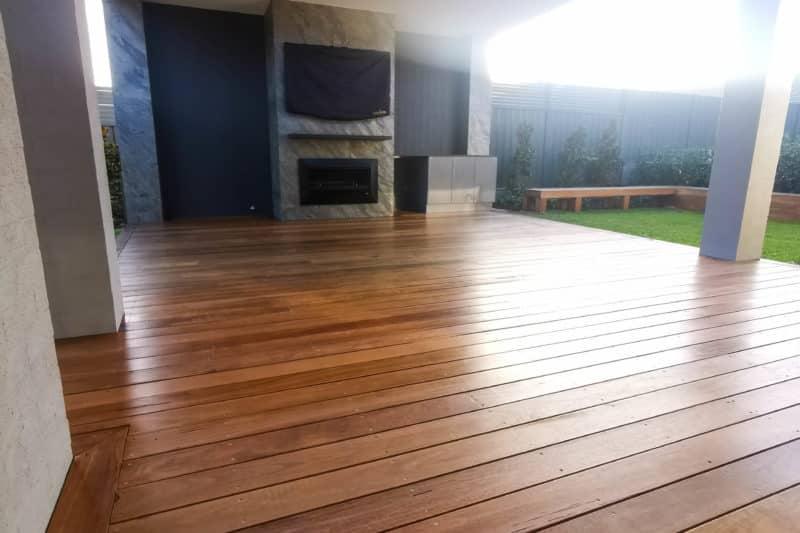 Deck Sanded & Finished With Quantum Decking Oil, Lambton, Deck Restoration