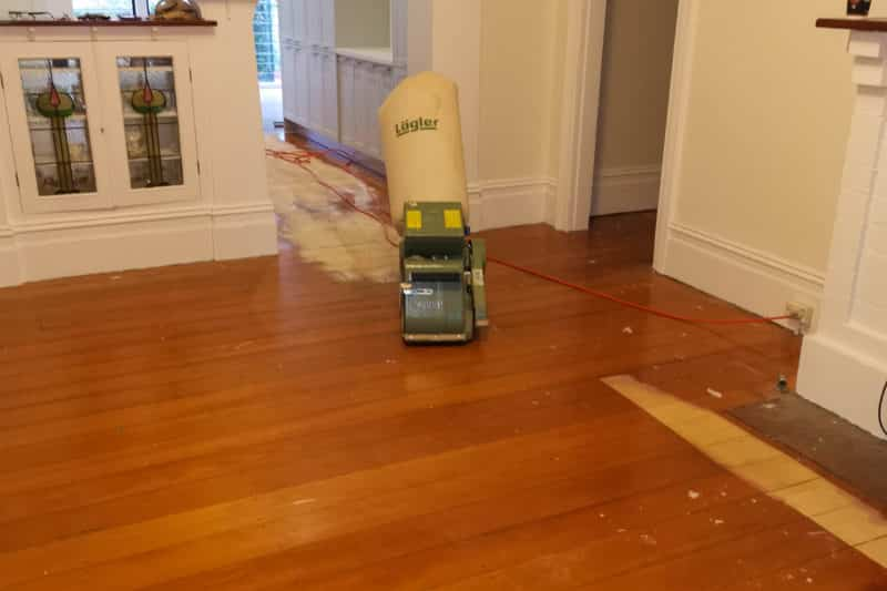 Polyurethane Removed and Applied 2K Aquaro Pro Water Base, Hamilton, Newcastle Floor Sanding