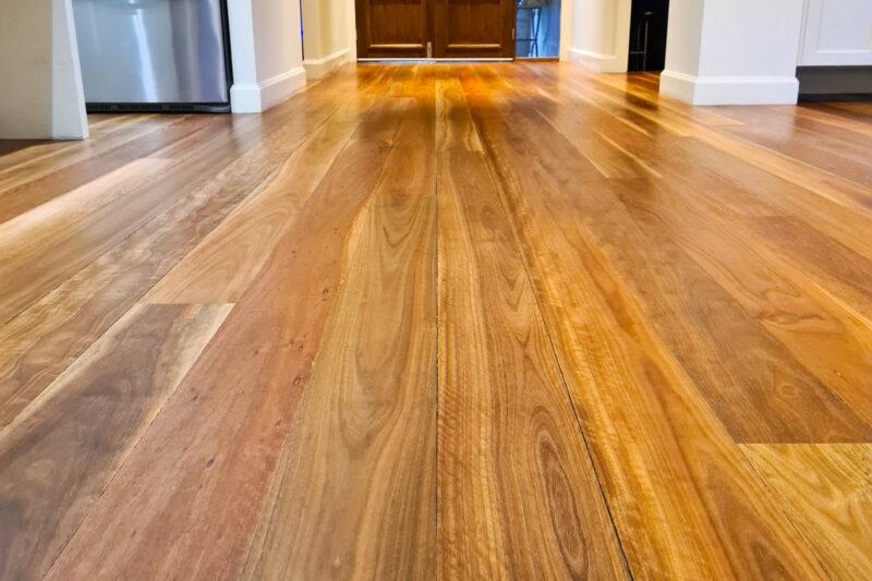 Prestige Floor Sanding and Polishing, Newcastle Floor Sanding, Pokolbin Hunter Valley Before & After